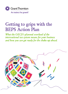 Getting to grips with the BEPS Action Plan cover image